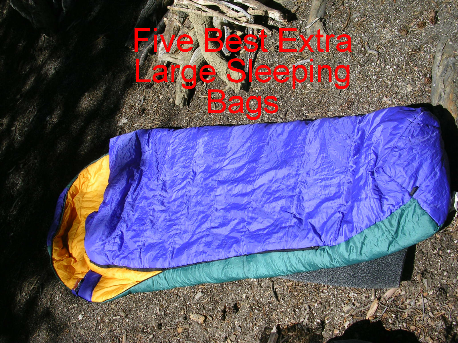 Extra Large Sleeping Bags • News To Review
